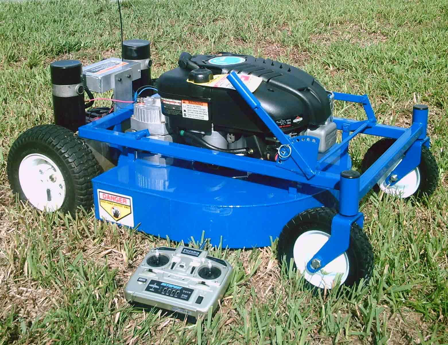 Remote Control Lawn Mower Diesel Bombers
